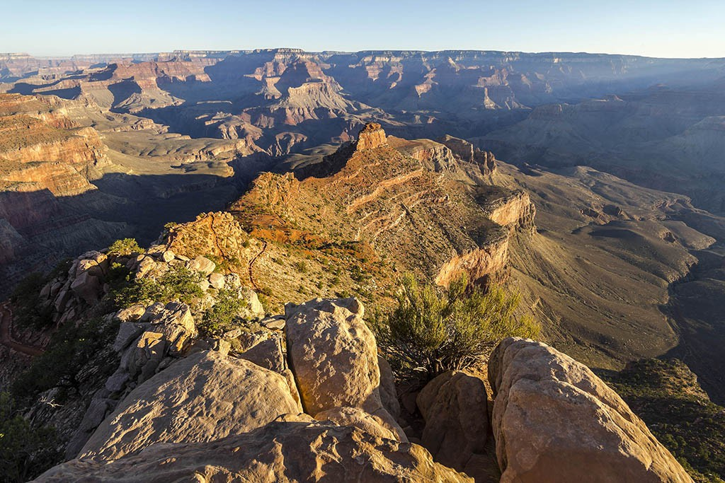 Grand Canyon Ooh-Aah-Point - Westküste USA Rundreise