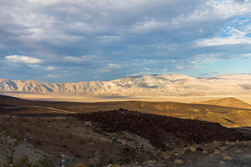 Death Valley Aussicht
