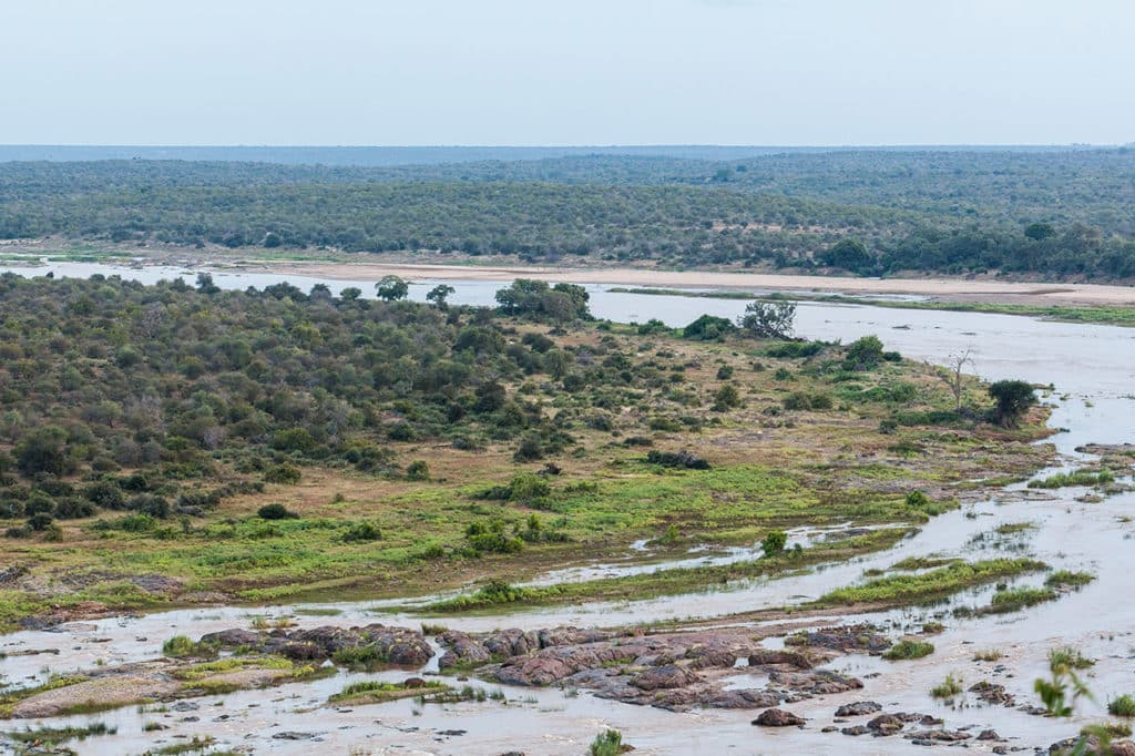 Olifants Camp Aussicht - Krüger Nationalpark Safari