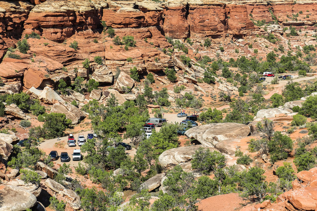 Needles District Chesler Park Joint Trail