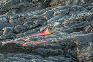 Lava Viewing Kalapana Hawaii