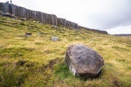 Snaefellsnes Halbinsel - Bild der typischen rauen Landschaft