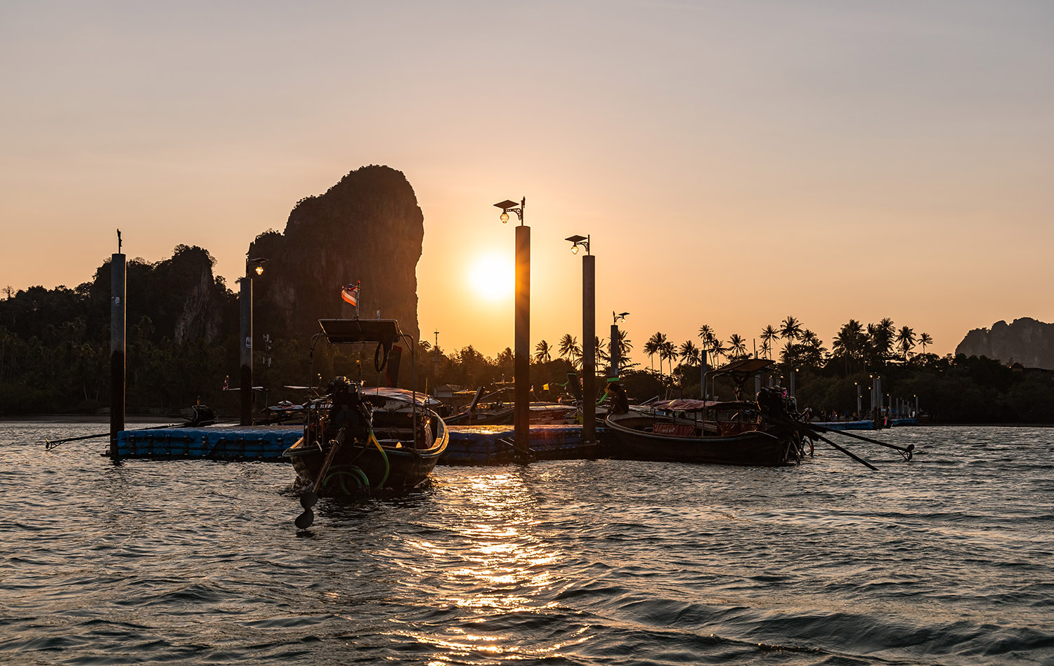 Railay Halbinsel, Railay Beach East, Krabi