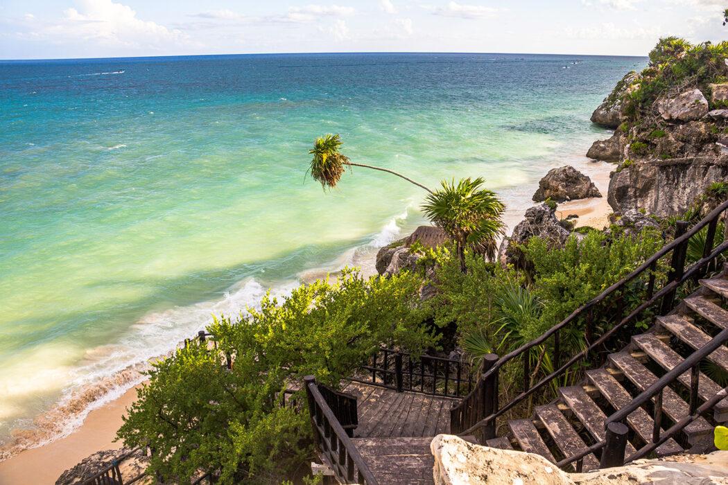 Yucatan Rundreise Route